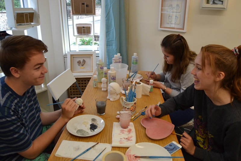 Paint your own ceramics after school kids club