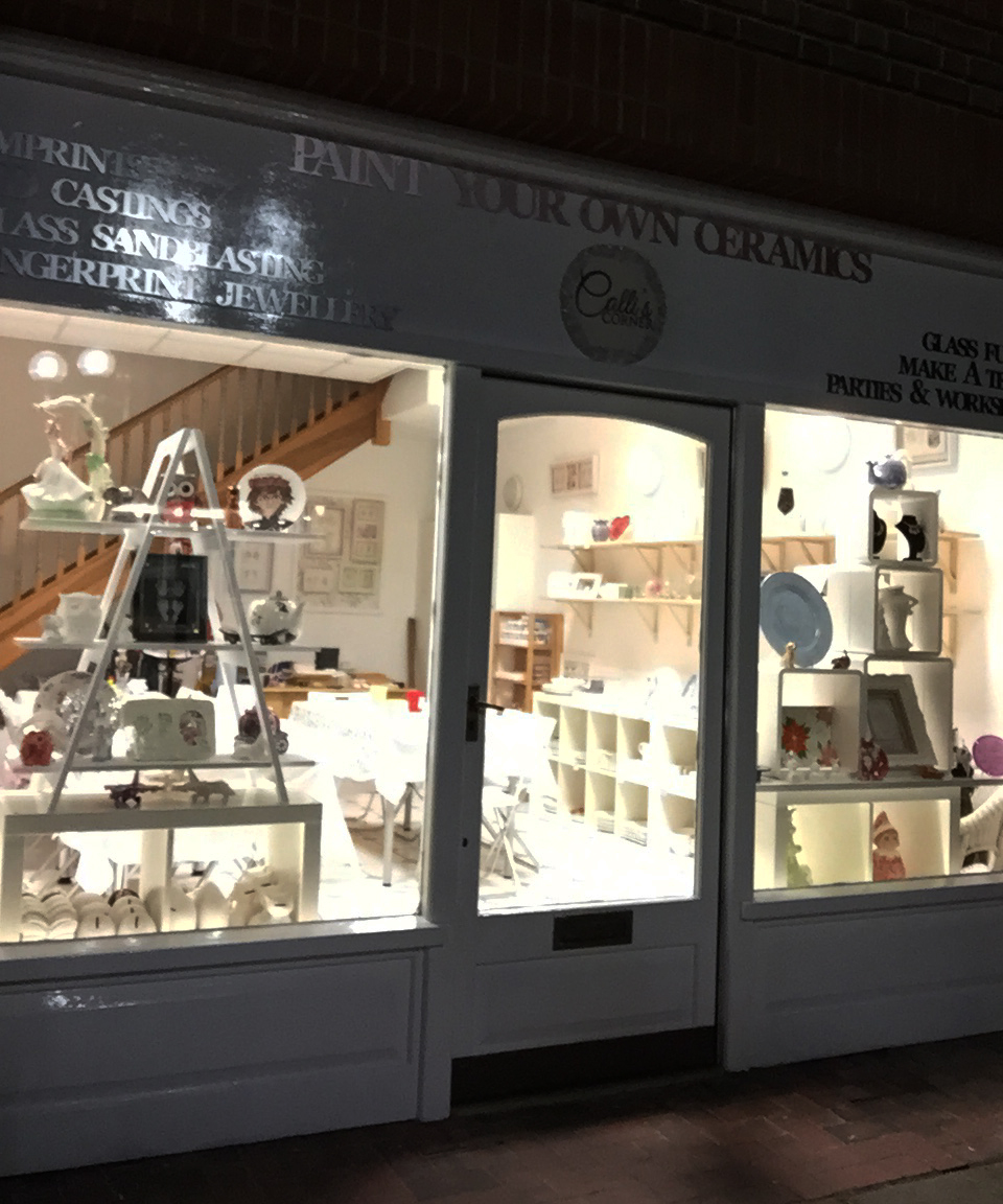 Paint Your Own Ceramics with Calli's Corner, Dorking