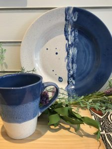 Terra Bella Glazes Plate and Mug