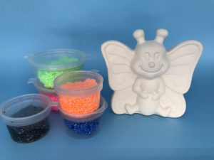 Foam Clay Kit-Butterfly H7cm W7cm L3cm