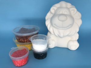 Foam Clay Kit-Lion H10.5cm W8cm D7cm