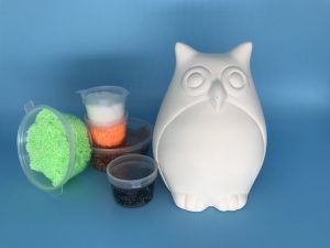 Foam Clay Kit-Party Owl H11cm W8cm D8cm