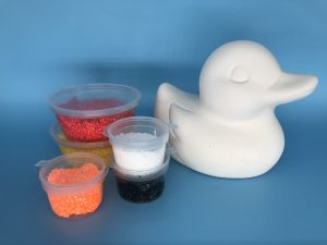 Foam Clay Kit-Smooth Duck H8.5cm W7cm D10.5cm