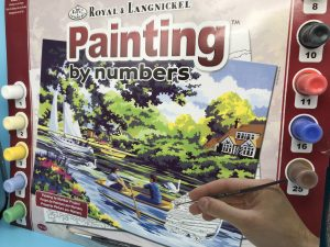 Painting by Numbers - River